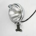 5 5 Chrome Motorcycle Headlight Fog Passing Lamp High Low Beam Motor Bike Chopper Bobber For