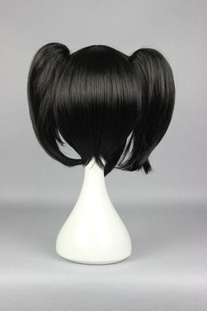 Cute 28cm Anime Love Live Yazawa Nico Cosplay Short Black Pigtail Wig