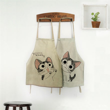 Cooking Apron Funny Novelty BBQ Party Apron Naked Men Women Cat Cheeky Kitchen Cooking Apron(China (Mainland))