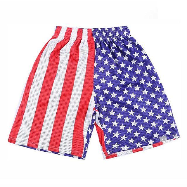 [ Mikeal ] америка баскетбол шорты мужчины сетчатая ткань воздухопроницаемый спорт ...