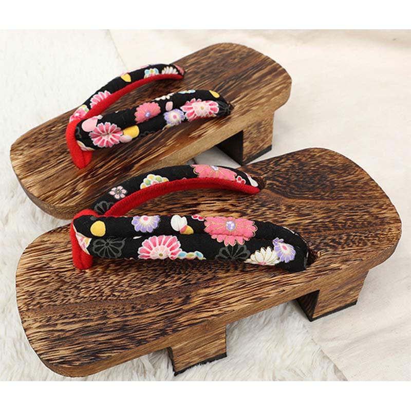 CoolFar 2016 clogs for women Japanese Geta Man Clogs shoes Wooden Slippers Women Bench Flip Flops wooden clogs<br><br>Aliexpress