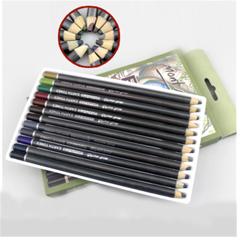 12Colors Pencils Painting Graffiti Art Supplies Children Drawing Colored Pencils for Kids Students Drawing <br><br>Aliexpress