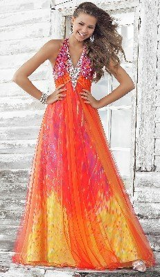 2013 Print Dramatic Gown Hand Beads Big Bottom Perfect Evening Mesh Prom Homecoming Dresses 2012 BC121023 - Beauty Create Dress Store store