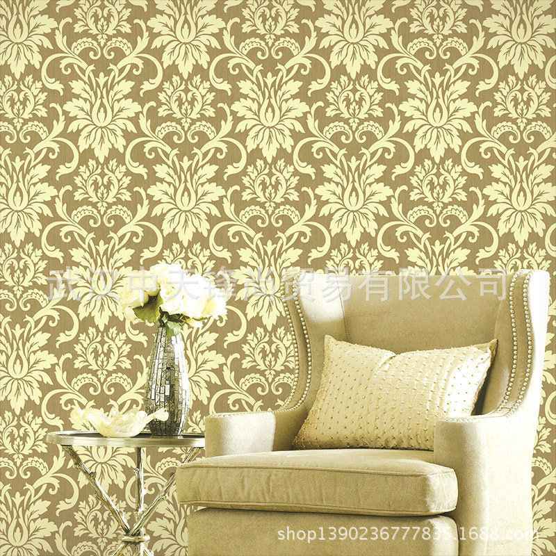 Wallpaper For Homes Wall Covering : Papel de parede roll pvc wallpaper wall covering paper