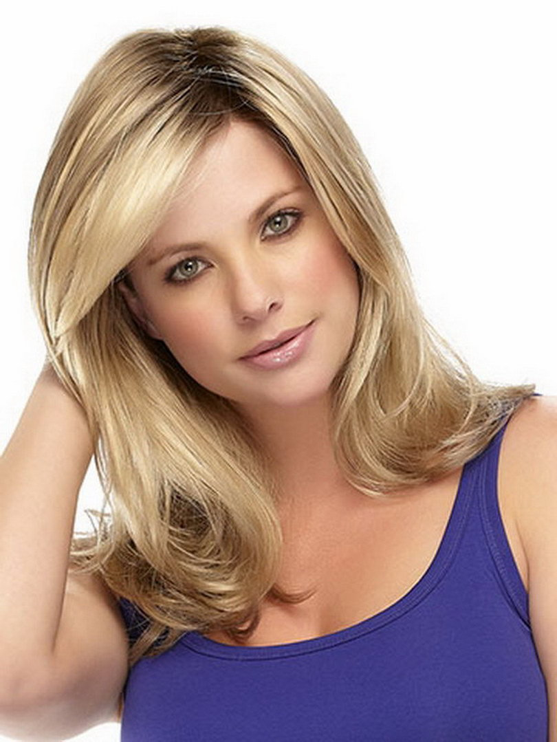 2015 Long Wavy Blonde U Part Wig Synthetic Hair Wigs For Women Natural Hairline 2015 Fashion Heat Resistant Wigs Peruca