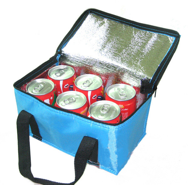 folding insulation Large meal package cold storage thermal waterproof lunch take-away bag ice pack Coke cooler bag(China (Mainland))