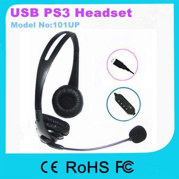 108U 2015 Newly High Quality USB Headset With Microphone(China (Mainland))