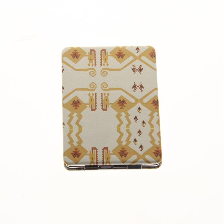 8.5*6cm Rectangle Double Sided Stainless Steel Folding Portable Espejo De Maquillaje Espelho De Maquiagem Makeup Mirror For Sale(China (Mainland))