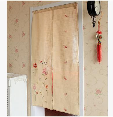 estilo japon s porta cortina meia cortina divis o pastoral