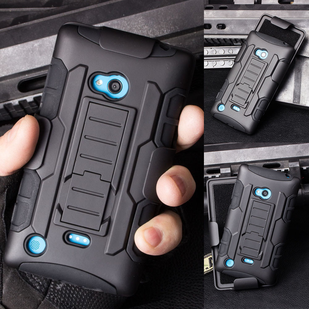 For Nokia Lumia 720 Case, Future Armor Impact Holster Shockproof Hard Case For Nokia Lumia 720 Back Cover Phone Bags + Gift(China (Mainland))