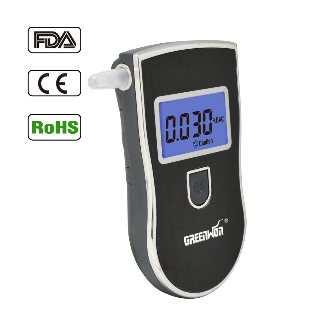 Explosion Models Professional LCD Display digital alcohol tester with patent--high quality and digital blue backlight dispaly(China (Mainland))