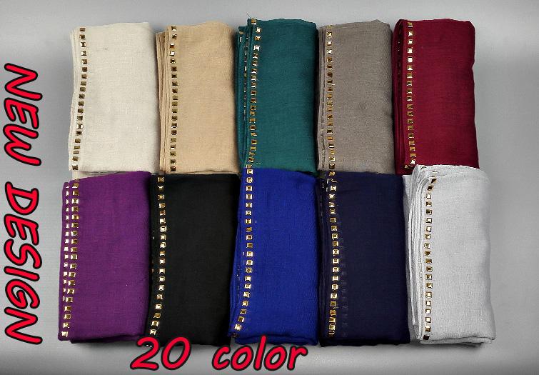 NEW DESIGN plain gold plaque glitter fashion printe shimmer viscose long shawls muslim hijab head scarves/scarf 10pcs/lot(China (Mainland))