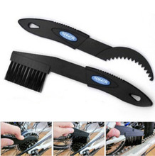 New Bicycle Chain Wheel Cleaner Bike Flywheel Cleaning AndMaintenance Tools Convenient Bicycle Accessories Black Blue Brush SW73