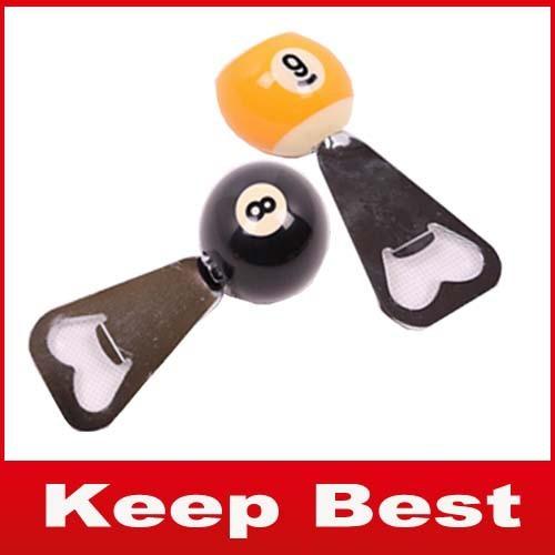 Free Shipping Ball Bottle Opener/Beer bottle opener/Billiards Accessories/Billiards Gift