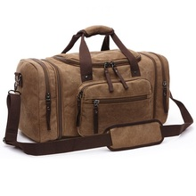 Vintage Canvas Men Travel Bags Women Weekend Carry on Luggage & Bags Leisure Duffle Bag Large Capacity Tote Business Bolso(China (Mainland))