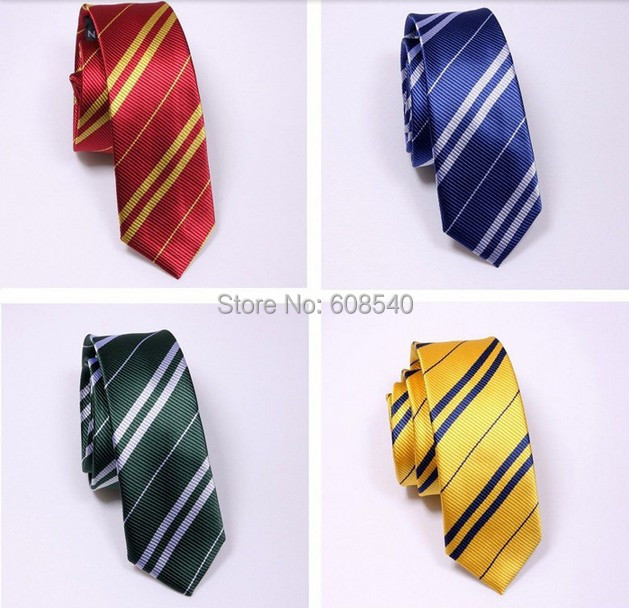 1 PC Vintage Harry Potter Slytherin NeckTie Costume NEW Cosplay Gift AE00123