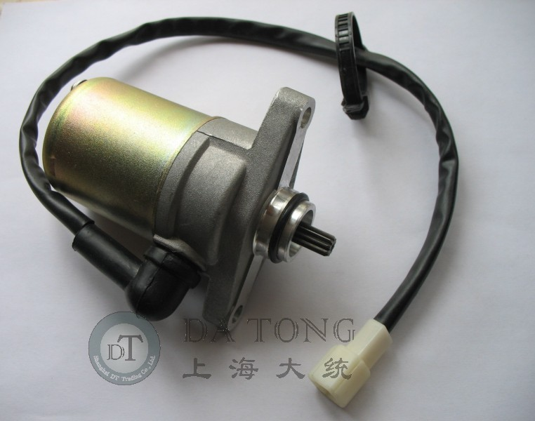 Electrical Engine Starter Motor QJ Keeway 50cc 4 Stroke font b GY6 b font For Chinese