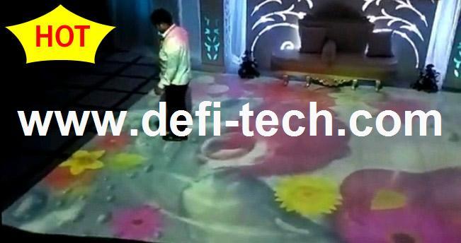 Best price interactive floor advertising system,Magic interactive floor system for advertising(China (Mainland))