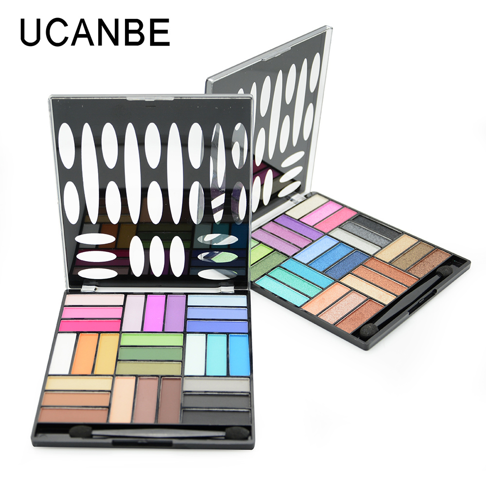 New fashion 27 color maquiagem professional natural brand cosmetic matte eyeshadow palette naked makeup glitter eye shadow brush<br><br>Aliexpress