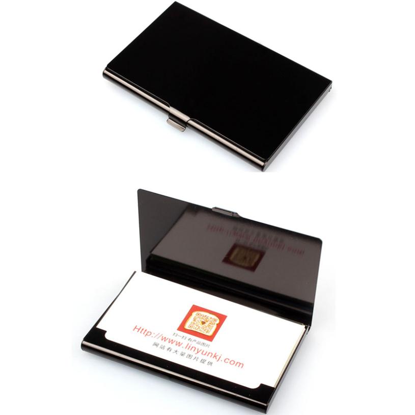 Brand New Creative Aluminum Holder Metal Box Cover Credit Business Card Wallet For women men <br><br>Aliexpress