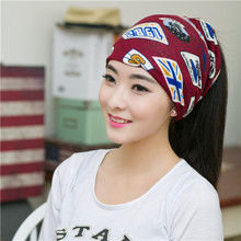 2015 Hot Sale Korean Version Of The New Men And Women Piles Cap Cover Headgear Double Warm Beanies Winter Scarf Knitted Hat(China (Mainland))