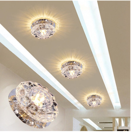 Cheapest ceiling fan crystal chandelier small crystal ...