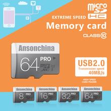 100% Original Gary Micro SD Card 64GB 32GB 16GB Class 10 High Speed Memory Card 8GB Class 6 Cartao de Memoria Carte SD Tarjeta