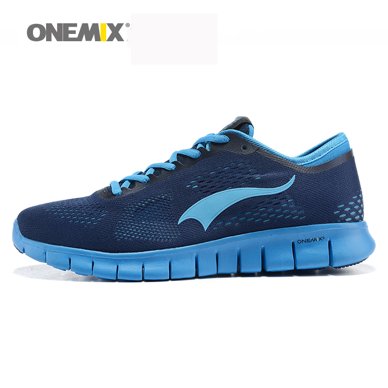 Onemix 2015 free flexible mens sport running shoes breathable mesh mens outdoor athletic shoes good quality walking shoes<br><br>Aliexpress