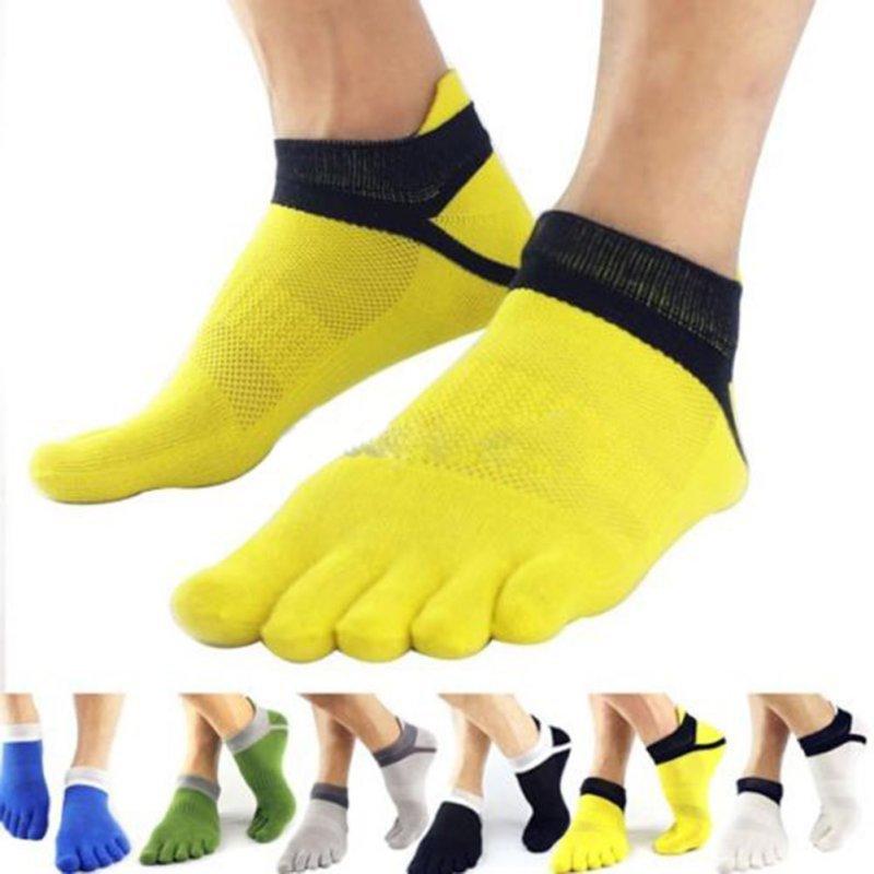 Men Socks Boys Cotton Finger Breathable Five Toe Socks Sports Pure Sock(China (Mainland))