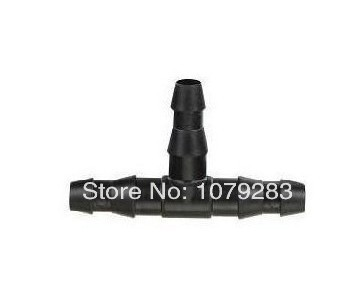 1/4 in. Barb Tee Connectors (100-Pack) for irrigation tubing connection(China (Mainland))
