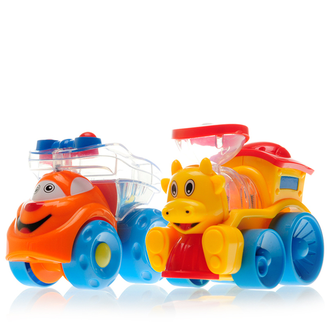 Discount + Free Shipping!Children present two optional sliding cartoon car Xuandong children toy car Friction Car
