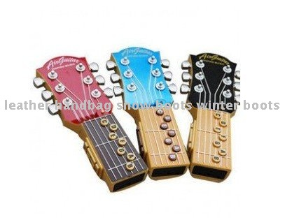 Wholesale/retail novelty product air guitar electric toys music instrument guitar,inspire the music,21x7cm,230gram,free shipping(China (Mainland))