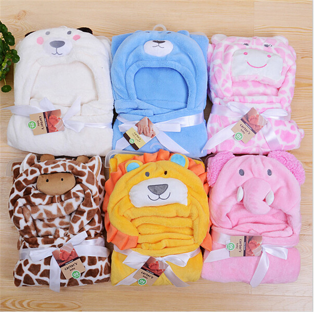 16 стилей форма животных ребенок с капюшоном / ребенка полотенце / новорожденных ...