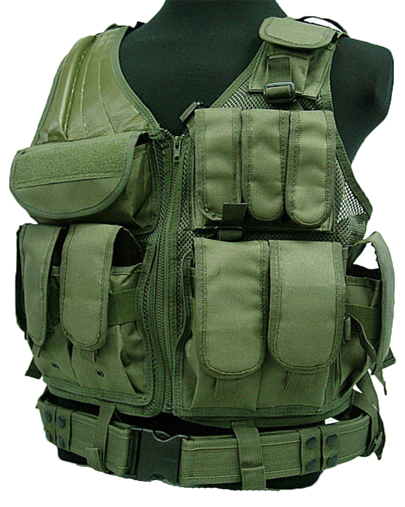 Tactical Vest MOLLE Nylon Combat Paintball Airsoft Hunting CS Training Camouflage - UNITEWIN Innovate Army Equipment store