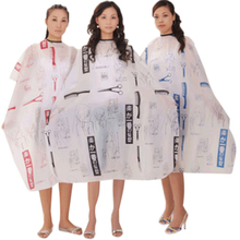 Adult Salon Hair Cut Hairdressing Barbers Hairstylist Nylon Cape Gown Waterproof Barber Wai Cloth BBV6005(China (Mainland))
