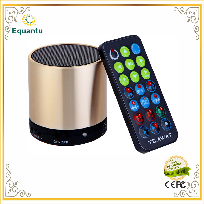 New Arrived Holy Digital Islamic Gift Music MP3 Quran Speaker Download The Audio MP3 Special Learning Way For Muslims(China (Mainland))