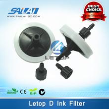 Free shipping!!big printer crystaljet 4000 6000 series syringe filter disc for solvent ink(China (Mainland))