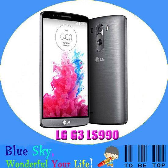 "LG G3 Sprint LS990 Original Unlocked GSM 3G&4G Android Quad-core RAM 3GB 5.5"" 13MP 32GB WIFI GPS Mobile phone(China (Mainland))"