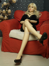 2015 New sex products 165cm tall real silicone japanese sex doll in Sex Doll with metal