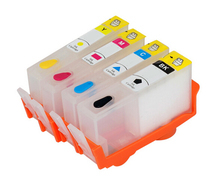 1set for HP 934 935 XL Refillable ink cartridge for HP934XL BK & for HP935XL Color for HP DJ 6230 6830 printer
