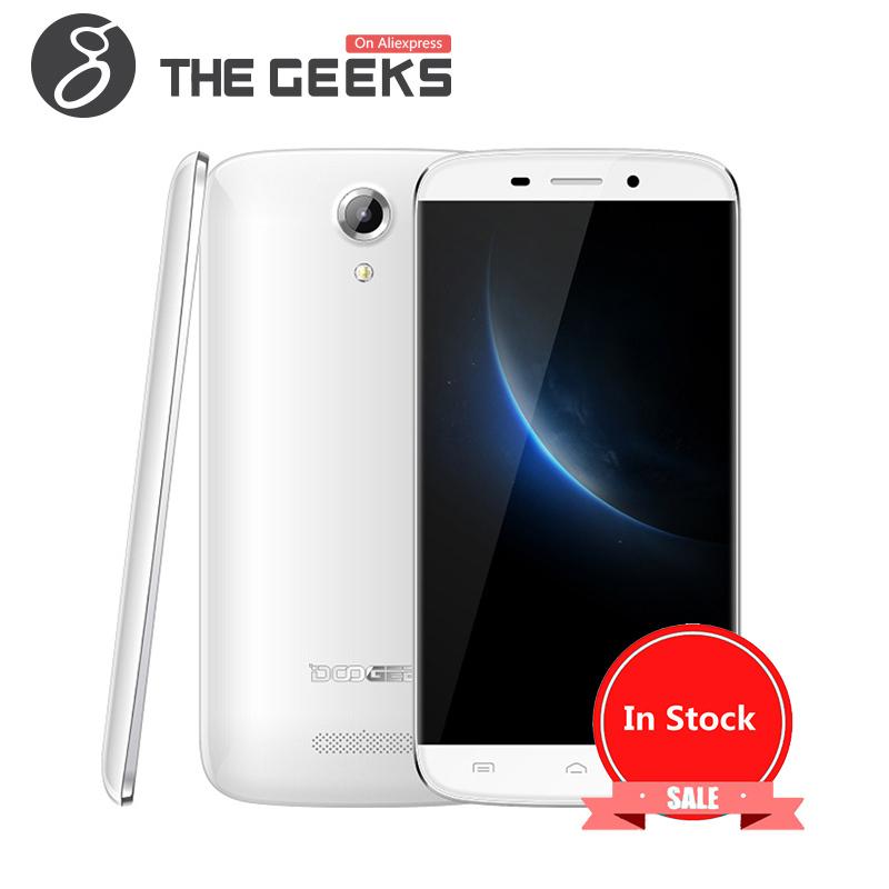 Low Price China Dual Sim Mobile Phone Android 5.0 3G Smartphone DOOGEE NOVA Y100X
