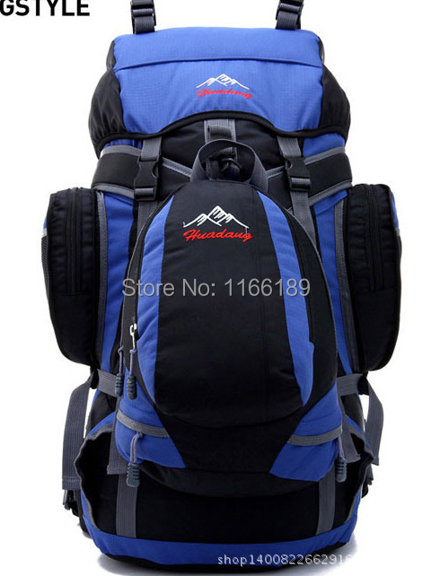 70L large capacity professional climbing internal frame type rucksacks Sports waterproof nylon travel backpack B-14<br><br>Aliexpress