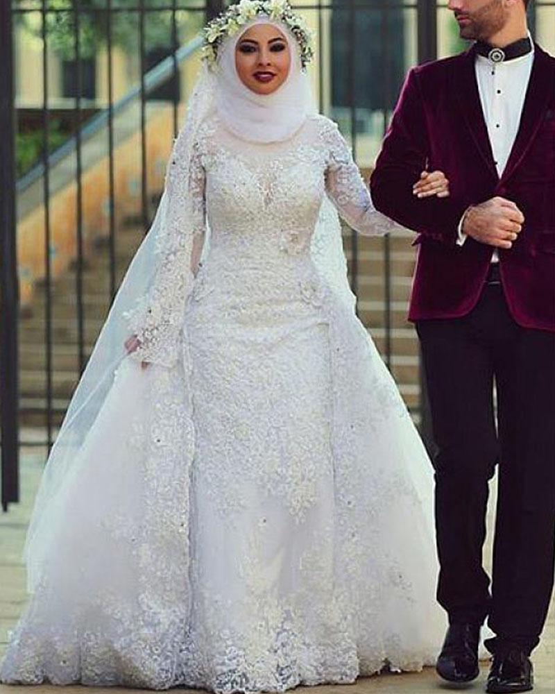 Свадебные платья по исламу