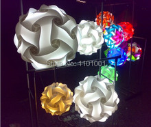 Diameter 25cm DIY lamp various colors IQ lighting IQ Puzzle Lights Jigsaw Infinity Lights IQ ball designed by Holger Strom(China (Mainland))