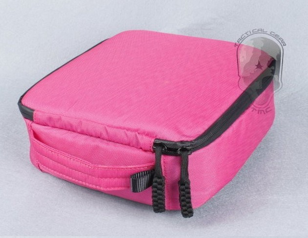 F08179 Pink Camera Space 20*20*7 Weather Resistant Soft Case Storage Bag for Gopro Hero 3+ 3 2(China (Mainland))