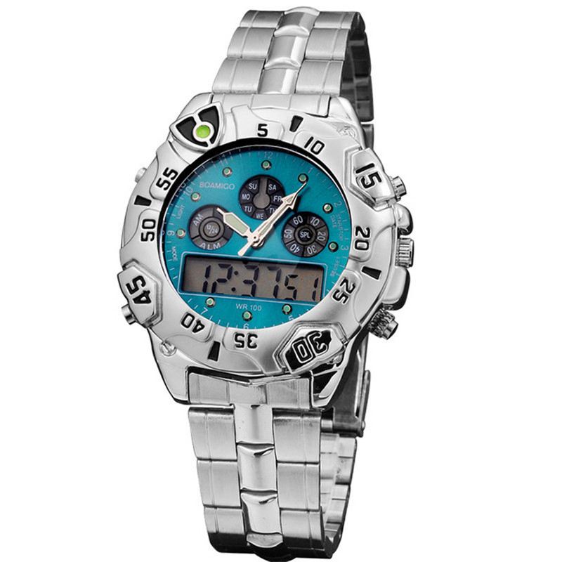 Best Looking Cheap Watches Military Men Waterproof Sports Watch Electronic High-Grade Watches With Multiple Time Zones Relogio(China (Mainland))