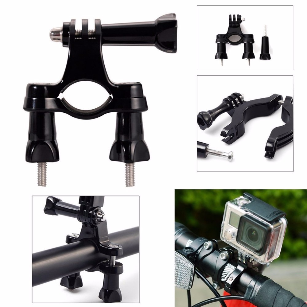 Camera accessory kit, 11-in-1 Gopro Accessories Kits for Gopro Hero4 Black/Silver Hero HD 3+/3/2/1 SJ4000 Xiaomi Yi action