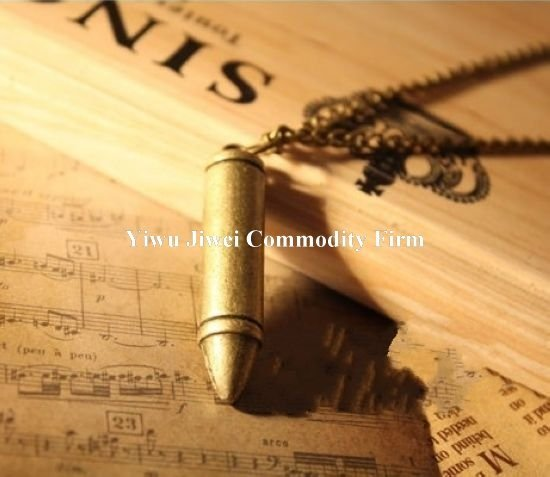 New fashion  retro bullet long paragraph chain necklace Free Shipping Min.order is $15 (can be mix order)