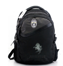 Free Shipping Juventus Bag Backpack Boy Men Shoulder Sports Laptop Tablets Phones School Student Travel Book Back Bag Holder 132