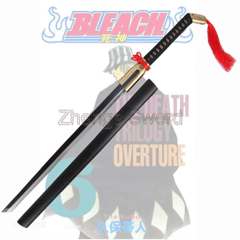 Cosplay Bleach Anime Urahara Kisuke Zanpakuto Sword Replica(China (Mainland))